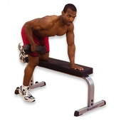 Body Solid Flat Bench (GFB-350)