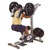 Body Solid Leverage Squat/Calf Raise Machine (GSCL-360)
