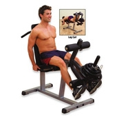 Body Solid  Leg Extension / Leg Curl Machine (GLCE-365)