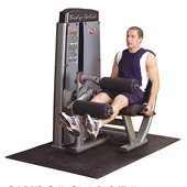 Body Solid Pro Dual Leg Extension Leg Curl (DLEC-SF)