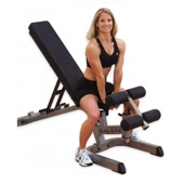Body Solid Full Commercial Flat/ Incline/ Decline Bench (GFID-71)
