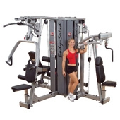 Body Solid Pro Dual 4 Stack Multi-Station System (DGYM-S)