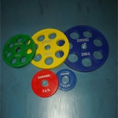 IVANKO Rubberized Olympic Weight Plates (IVO-ROP series)