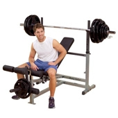 Body Solid PowerCentre Combo Bench (GDIB-46L)